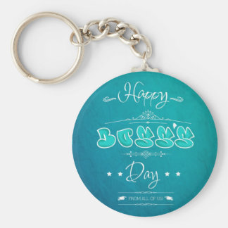 Happy Boss's Day Llavero Redondo Tipo Pin