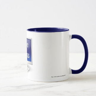 Happy Boss's Day with computer monitor Mug