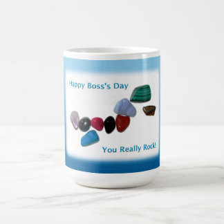 Happy Boss's Day You Really Rock Coffee Mugs