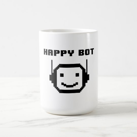 HAPPY BOT COFFEE MUG