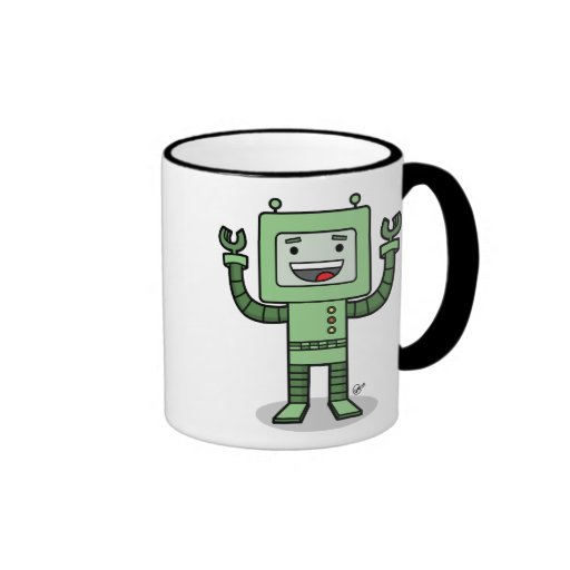 Happy Bot - Mug