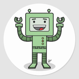 Happy Bot - Stickers