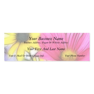 Happy Bouquet of Flowers Mini Business Card