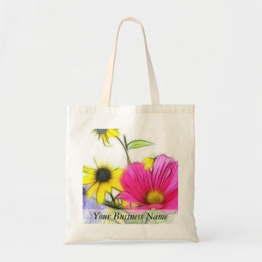 Happy Bouquet of Flowers Tote Bag