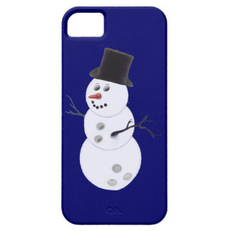 Happy Bowlidays Snowman iPhone SE/5/5s Case