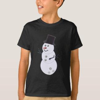 Happy Bowlidays Snowman T-Shirt