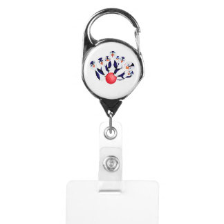 Happy Bowling by The Happy Juul Company Badge Holder