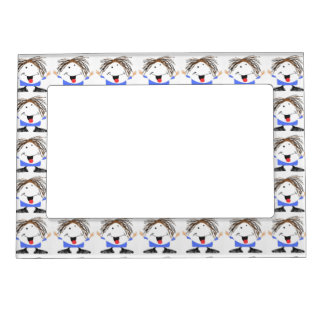 Happy boy magnetic picture frames