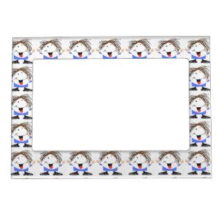 Happy boy magnetic frame