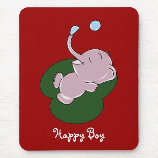 Happy Boy Mouse Pad