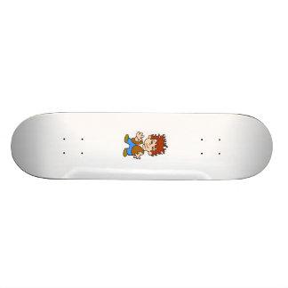Happy boy skateboard