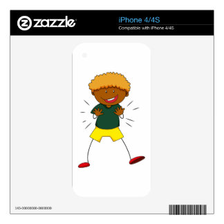 Happy boy skin for the iPhone 4