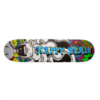 Happy Brain #7 Skateboard