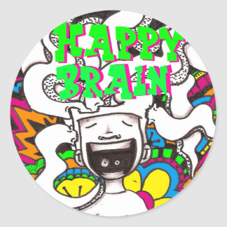 Happy Brain #7 Sticker