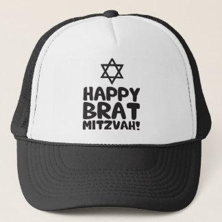 Happy Brat Mitzvah (Bar / Bat Mitzvah) Trucker Hat