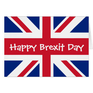 Happy Brexit Day - March 29 Card