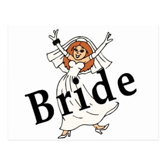 Happy Bride Post Cards