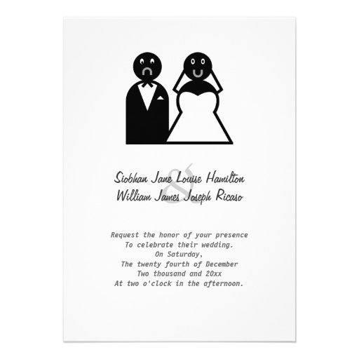 funny father bride stationery