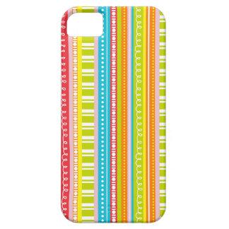 Happy Bright Colorful Stripes iPhone SE/5/5s Case