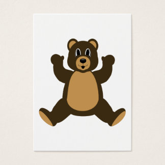 Happy Brown Bear Business Card