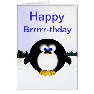 Happy Brrrr-thday Card