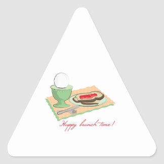 Happy Brunch Time Stickers