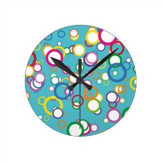 Happy Bubbles Clock