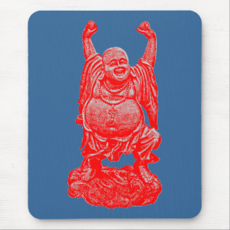 Happy Buddah Mouse Pad