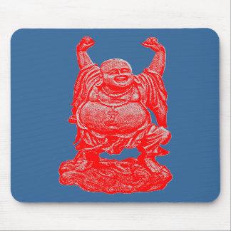 Happy Buddah Mouse Pad