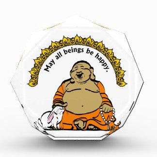HAPPY BUDDHA ACRYLIC AWARD