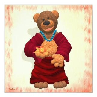 Happy Buddha Bear Card