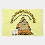 HAPPY BUDDHA KITCHEN TOWELS