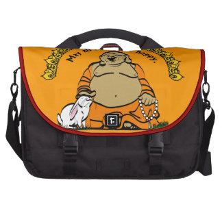HAPPY BUDDHA LAPTOP BAGS