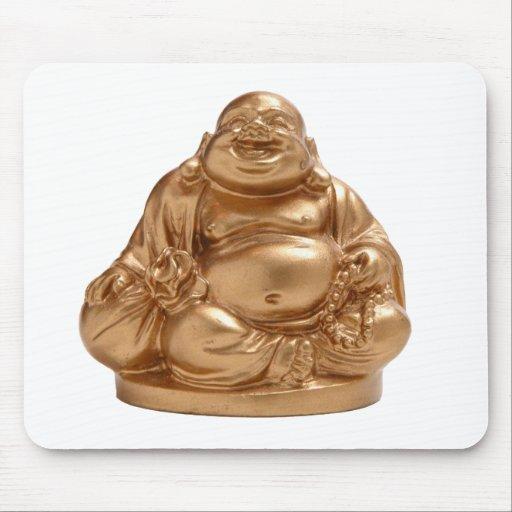 Happy Buddha Mouse Pad