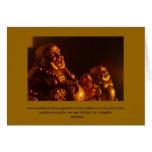 Happy Buddha Note Card