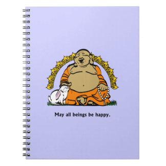 HAPPY BUDDHA NOTEBOOK
