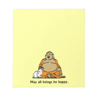 HAPPY BUDDHA NOTEPAD