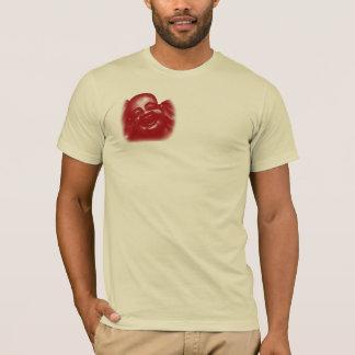 Happy Buddha, Red T-Shirt