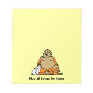 HAPPY BUDDHA SCRATCH PAD