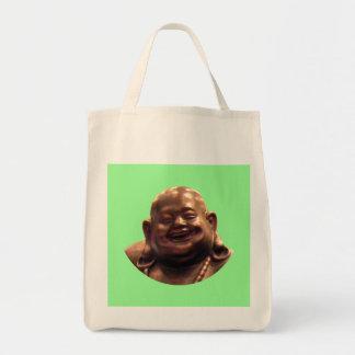 Happy Buddha Shanghai 2002 Circle The MUSEUM Zazzl Tote Bag