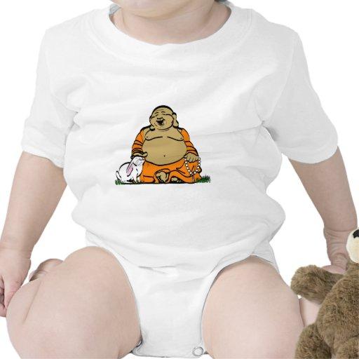 HAPPY BUDDHA T SHIRT