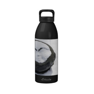 Happy Buddha With Snow Facial Drinking Bottles