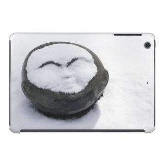 Happy Buddha With Snow Facial iPad Mini Cases