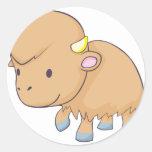Happy Buffalo Sticker