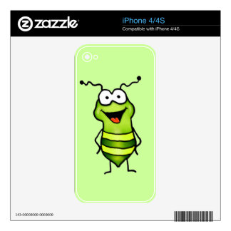 Happy Bug iPhone 4 Skin