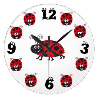 """Happy Bug"" Ladybug - Clock"