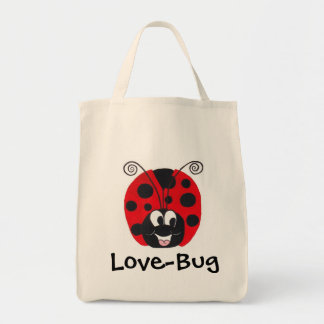 """Happy Bug"" Ladybug - Tote Bag"