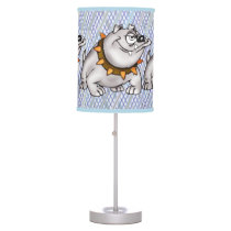 Happy Bulldog Table Lamp