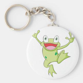 Happy Bullfrog Keychains