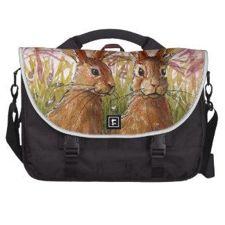 Happy Bunnies design by Schukina A072 Bolsa Para Ordenador